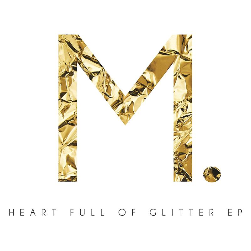 Mischa Heart Full of Glitter EP cover - www.kamersvol.com