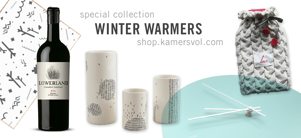 KAMERS Online Marketplace Winter Warmers Collection 2016 - shop.kamersvol.com