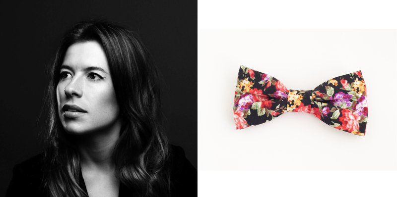 Louise de Nysschen of Harvey Max bow ties and suspenders at KAMERS/Makers - www.kamers.co.za