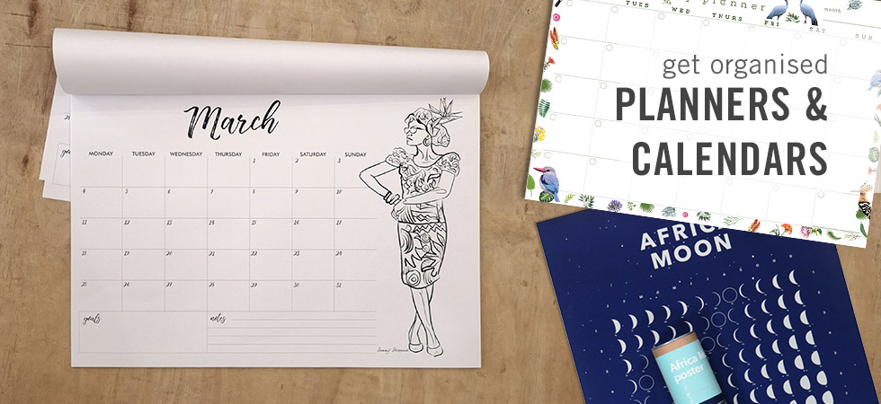 Creative 2019 Planners and Calendars - Available online at shop.kamersvol.com