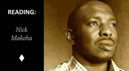 Reading: Stone by Nick Makoha