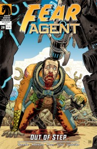 """""""Fear Agent"""" (okładka zeszytu #28)"""