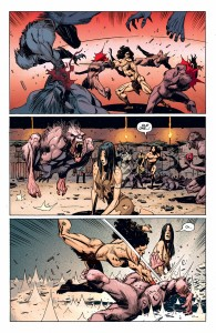 Mighty Samson (2010) #2 - plansza