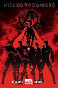 """""""New Avengers. Nieskończoność"""" - okładka"""