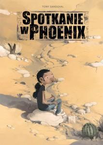 """""""Spotkanie w Phoenix"""" - okładka"""