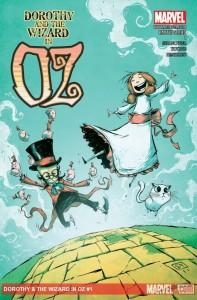"""""""Dorothy and the Wizard in Oz"""" - okładka zeszytu #1"""