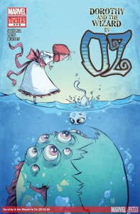 """Dorothy and the Wizard in Oz"" - okładka zeszytu #4"