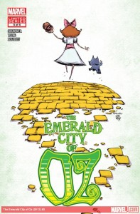 """Emerald City of Oz"" - okładka zeszytu #5"