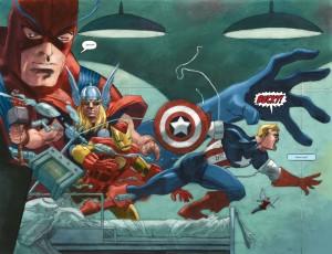 Kapitan Ameryka: Biały - plansza