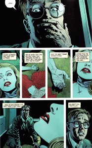 """The Fade Out"" - plansza z komiksu"