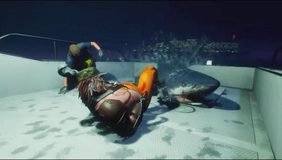 サメゲーム「MAN EATER」