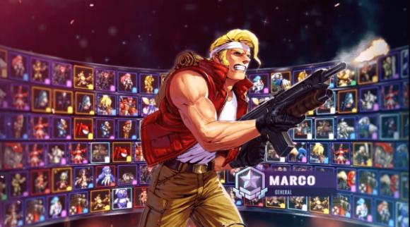 メタルスラッグ コマンダー ゲーム内容