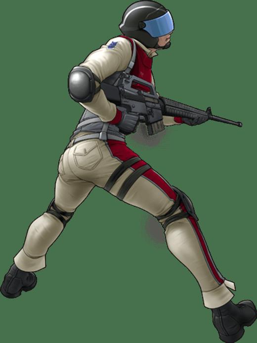 地球防衛軍3 陸戦歩兵部隊 特殊遊撃チーム ストーム1