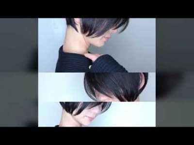 芸能人が売れる髪型前下がりショート Nor – Su