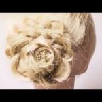 三つ編みでつくる花ヘアアレンジ | Flower hair to make with braid