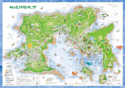 佐久島マップ