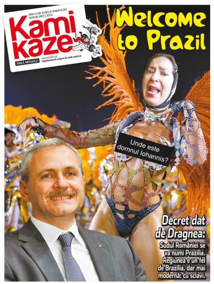 Coperta Revista Kamikaze nr 10 2017