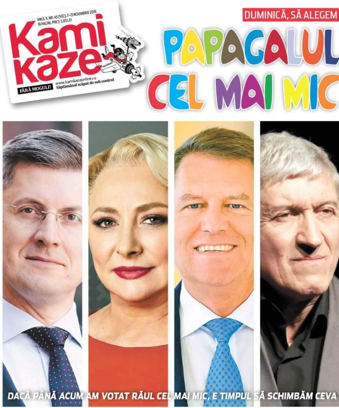 coperta revista Kamikaze
