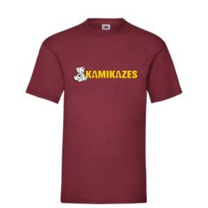 Camiseta kamikazes rojja