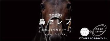 【鼻セレブ 華麗なる名馬シリーズ 第6弾】売り切れ続出、馬好き必見のセレブティッシュ!ブエナビスタは何処に...