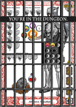 Photoshop, 3 Rust Barrel Punishment Dungeon, 2015