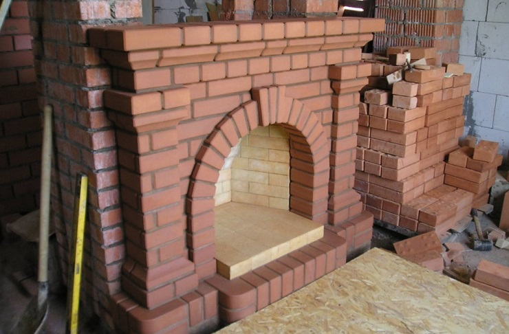 Foreign fireplace