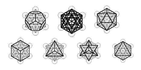 Sacred Geometry within the Fruit of Life and Metatron's Cube