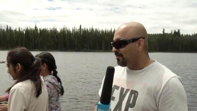 Family Fishing Day at Walloper Lake