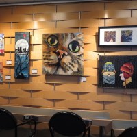 Art in Public Spaces at Kamloops Airport 2019