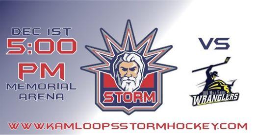 Kamloops Storm vs. 100 Mile