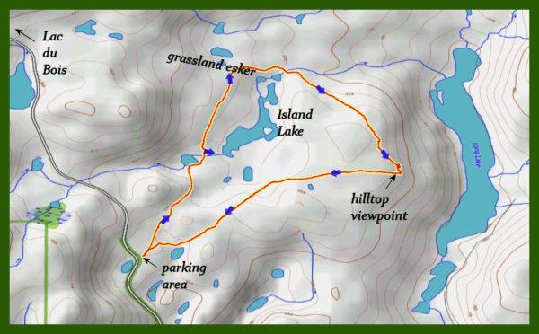Island Lake Snowshoe Loop - Kamloops Trails
