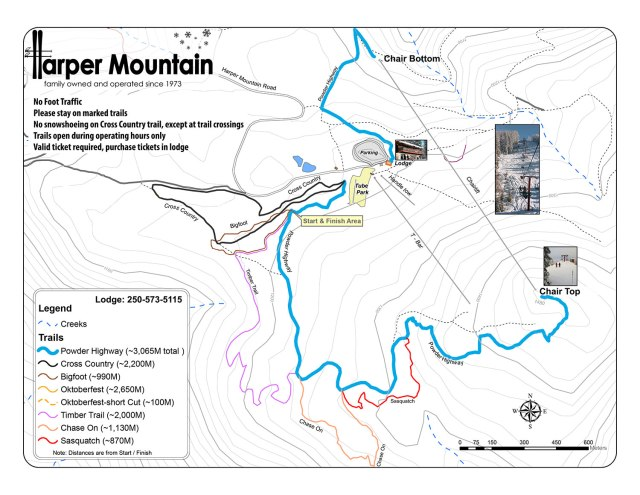 On Harper Mountain in July