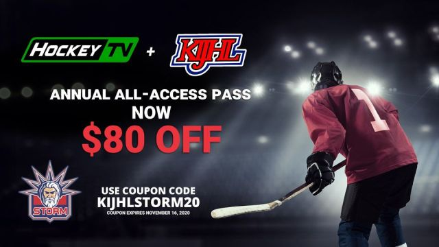 The KIJHL has partnered with Hockey TV to offer Storm fans, friends, & famil...