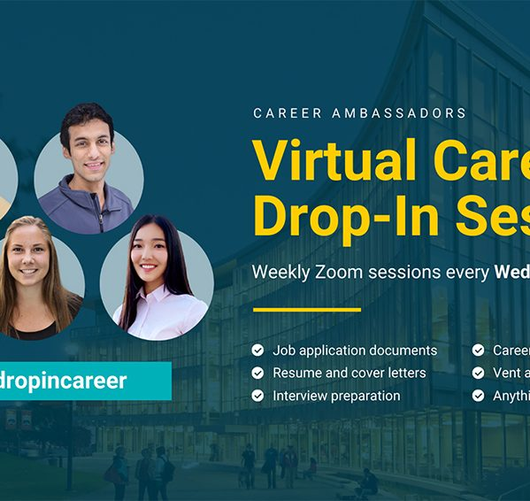 Virtual Career Drop-in Sessions – TRU Newsroom