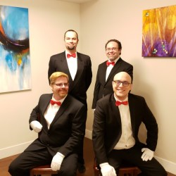 Slow No Tempo Is Going Virtual For Their Third Annual Singing Valentines