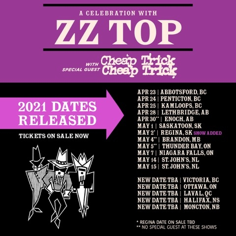 A Celebration with ZZ Top (New Date)