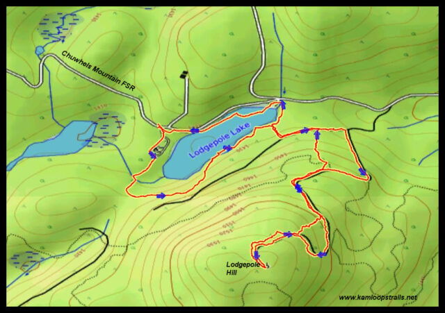 Lodgepole Hill – Kamloops Trails