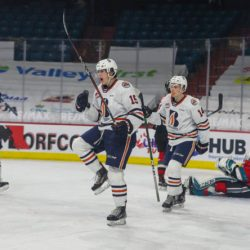 LEVIS LEADS BLAZERS TO 6-2 WIN OVER KELOWNA – Kamloops Blazers