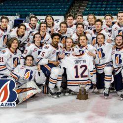 Kamloops Blazers claim RE/MAX Cup as 2020-21 WHL B.C. Division Champions – Kamloops Blazers