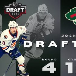 PILLAR SELECTED BY MINNESOTA WILD IN 4TH ROUND OF NHL DRAFT