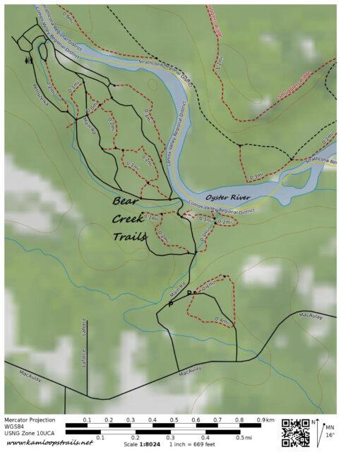 Bear Creek Trails – Kamloops Trails
