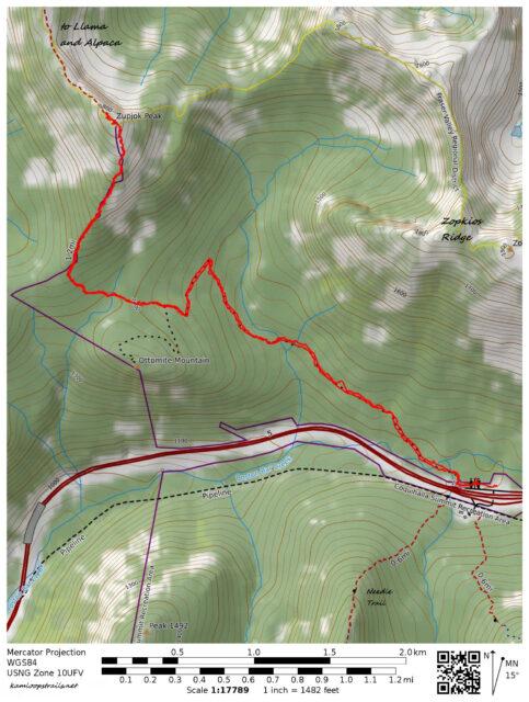 Zupjok Peak Trail – Kamloops Trails