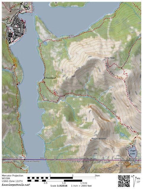 Crypt Lake – Kamloops Trails
