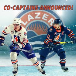 STANKOVEN AND SCHMIEMANN ANNOUNCED AS CO-CAPTAINS – Kamloops Blazers