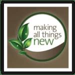 """Making All Things New"" logo framed/square"