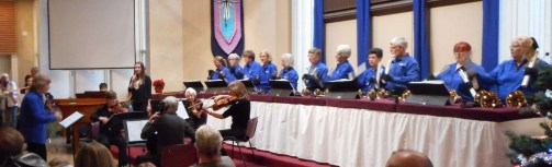 An ensemble adds to the concert.
