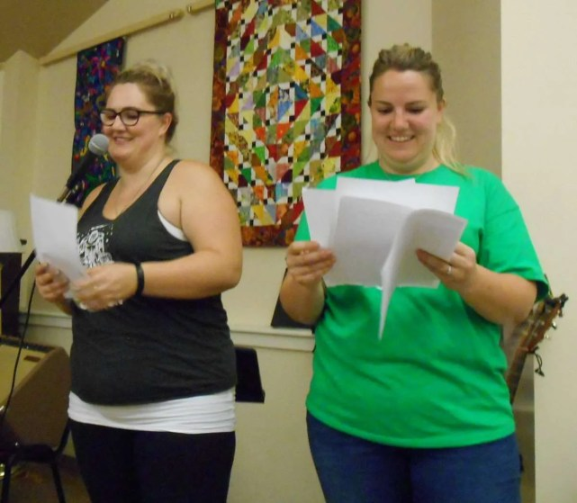 Announcing results of the Silent Auction.