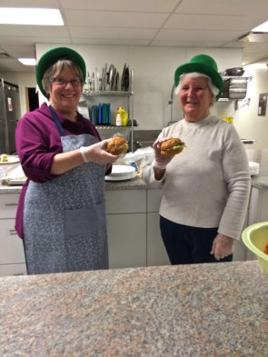 Anne and Margaret ~ service with a smile.