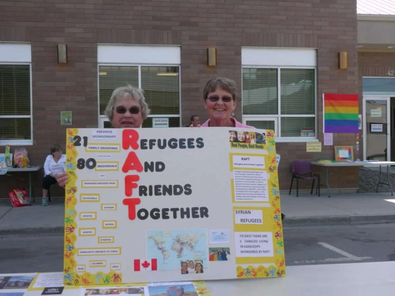 "KUC is the founder of the local refugee resettlement group ""RAFT"" (Refugees And Friends Together). KUC celebrates 40 years of refugee resettlement."