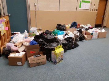 """Aberdeen Elementary's """"Me to We"""" donations"""